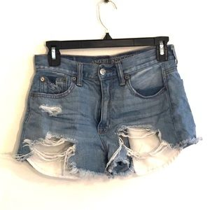 [American Eagle] Distressed Jean Shorts - Size 2